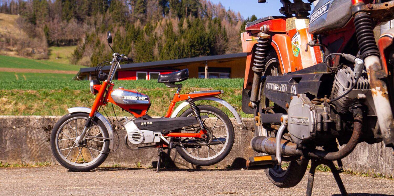 Mofa-Verwertung Ziegler Moto Recycling
