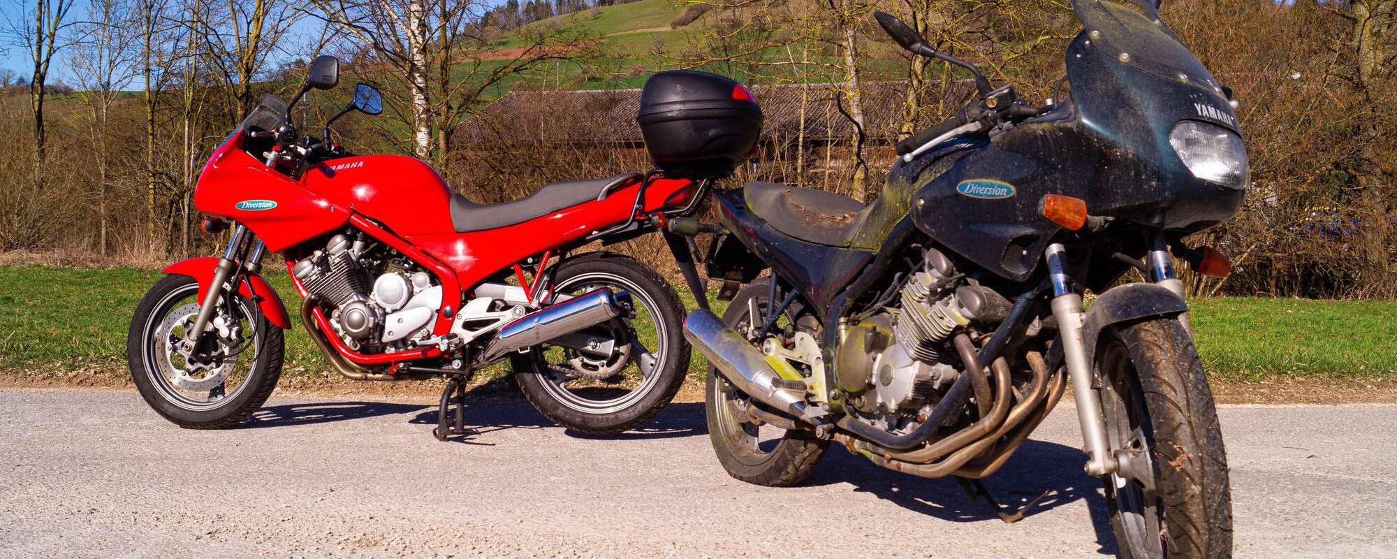 Motorrad-Entsorgung Ziegler Moto Recycling